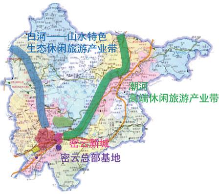 蔡家洼位于密云新城东侧,地处 潮河旅游带核心区